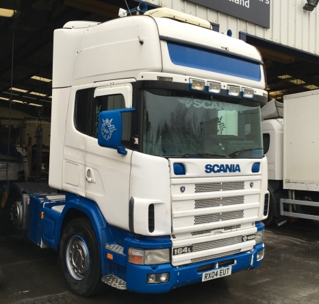 2004 Scania 164, 6x2 Big Tanks
