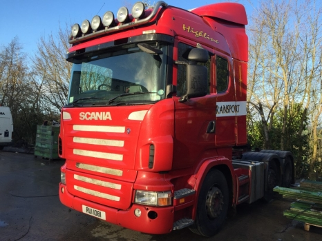 2006 Scania 420HP 6x2 Highline
