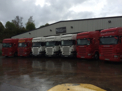 2007 & 2008 Scania R480s and R500s