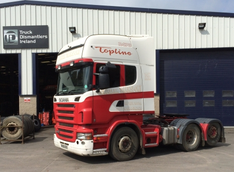 Scania R470 Tag Axle