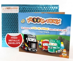 Vroom Town Book